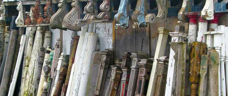 Newel posts, Spindles, Pillars, Corbels